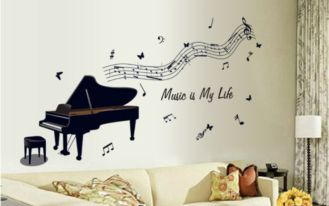 Music wall art decals images amp pictures becuo