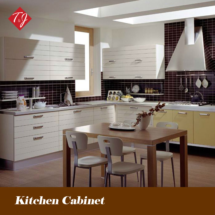 Modern PVC Finished euro style kitchen cabinet Free Design With Door-to-Door Service Gabinete De Cozinha PV06(China (Mainland))