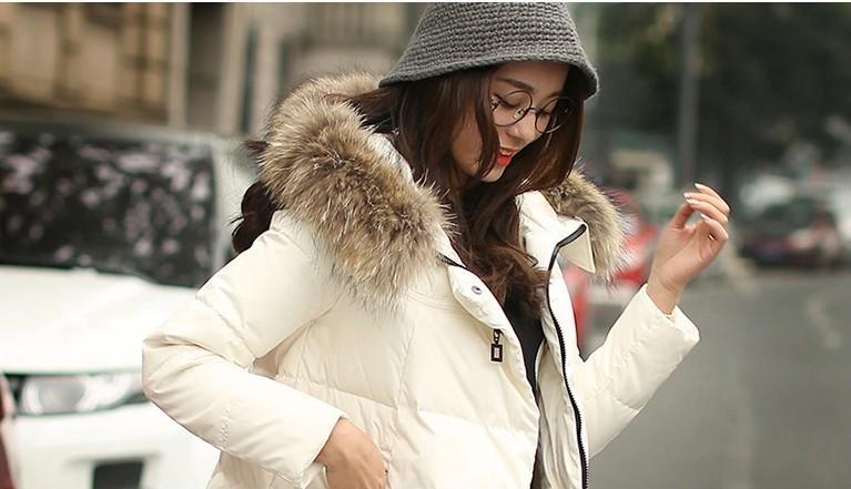 Скидки на HotSale 2016 Куртка С Капюшоном Зимняя Куртка Женщин Меховой Воротник Зимой пальто женская Куртка Женщин Молния Зимнее Пальто Леди Пальто и куртка