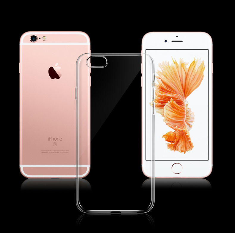 - HTB1SrjJKFXXXXa1XpXXq6xXFXXXh - Ultra Thin Soft TPU Gel Original Transparent Case For iPhone 6 6s 6Plus 6sPlus Crystal Clear Silicon Back Cover Phone Bags