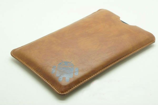 PU Leather Case Cover Sleeve Pouch for Apple iPad Mini Wifi 7.9inch Tablet - Brown(China (Mainland))