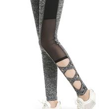 Buy 2017 Activewear Mesh Legging Sexy Grey Leggins Black Leggings Spliced Women Autumn Winter Workout Leggings High Waist Leggings for $7.84 in AliExpress store