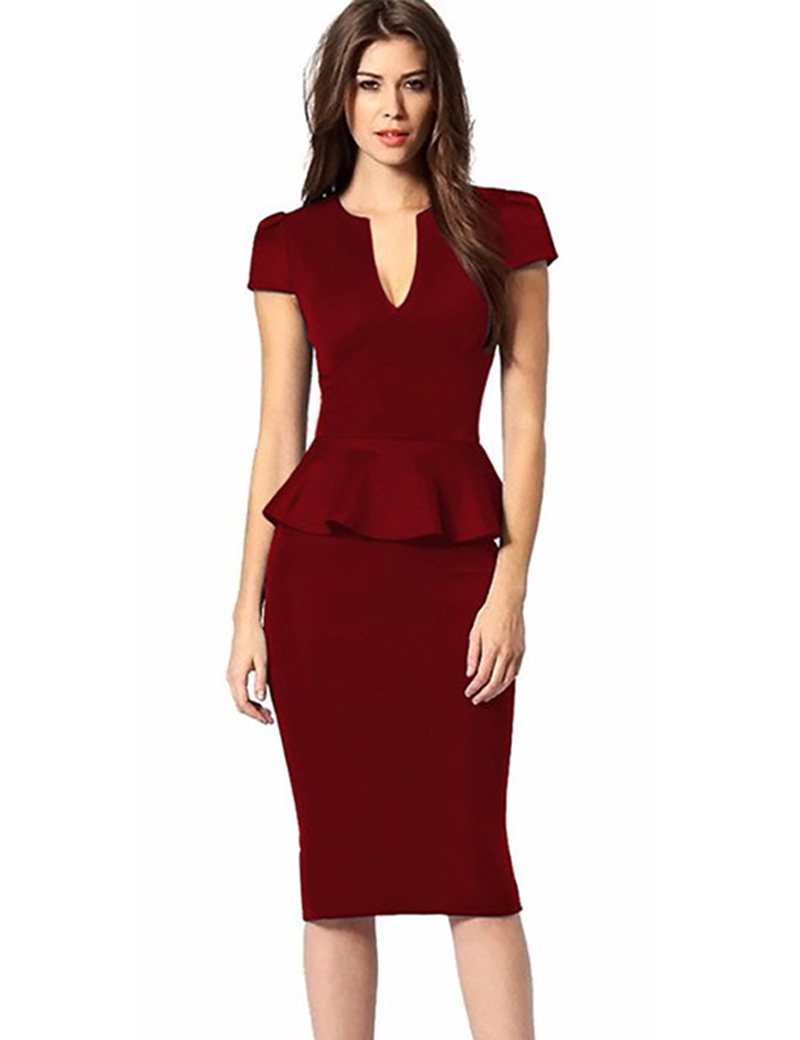 Free shipping plus size peplum dress online store. Best plus size peplum dress for sale. Cheap plus size peplum dress with excellent quality and fast delivery. | urgut.ga