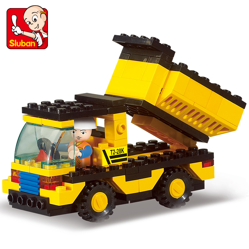 High QUALITY Original City Construction Dump Truck Building Blocks Bricks Toys Brinquedos Forge World Compatible with lego city(China (Mainland))