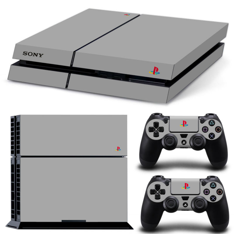 Classic Version Play 4 PS4 Skin 1 Set Skins For play station 4 Sticker Decal Cover + 2 Controller Sticker ps4 accessories