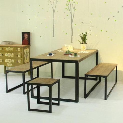 Muebles pa s de am rica mesas de hierro forjado y sillas for Mesas y sillas para patios