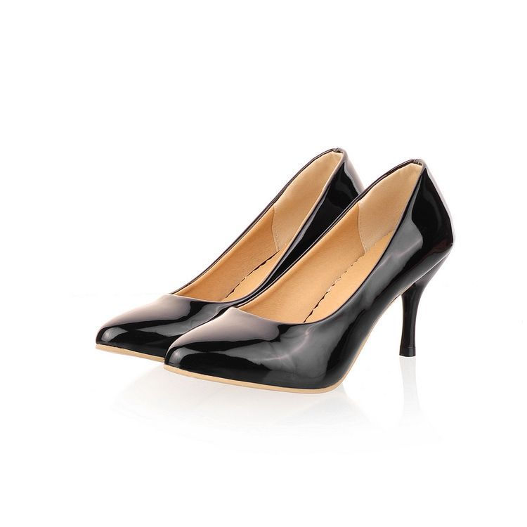New 2014 spring shoes sapatos femininos women pumps pointed toe high heels thin heel platform shoes women office shoes big size