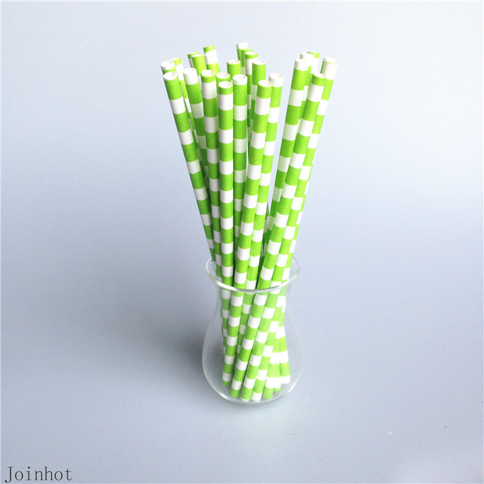 Paper Bamboo Straws Paper Drinking Straws