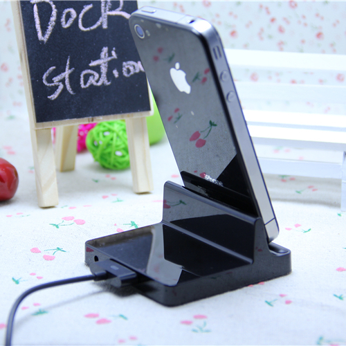 Mobile Phone Accessory Dock Charger for iphone 4 4G iphone4 4S Dock station Desk charger for ipad 2 3 ipad3(China (Mainland))