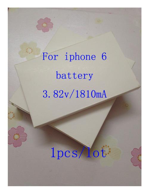 1pcs 2016 New Li ion Polymer Battery 3 82V 1810mA 100 Original For font b iphone6