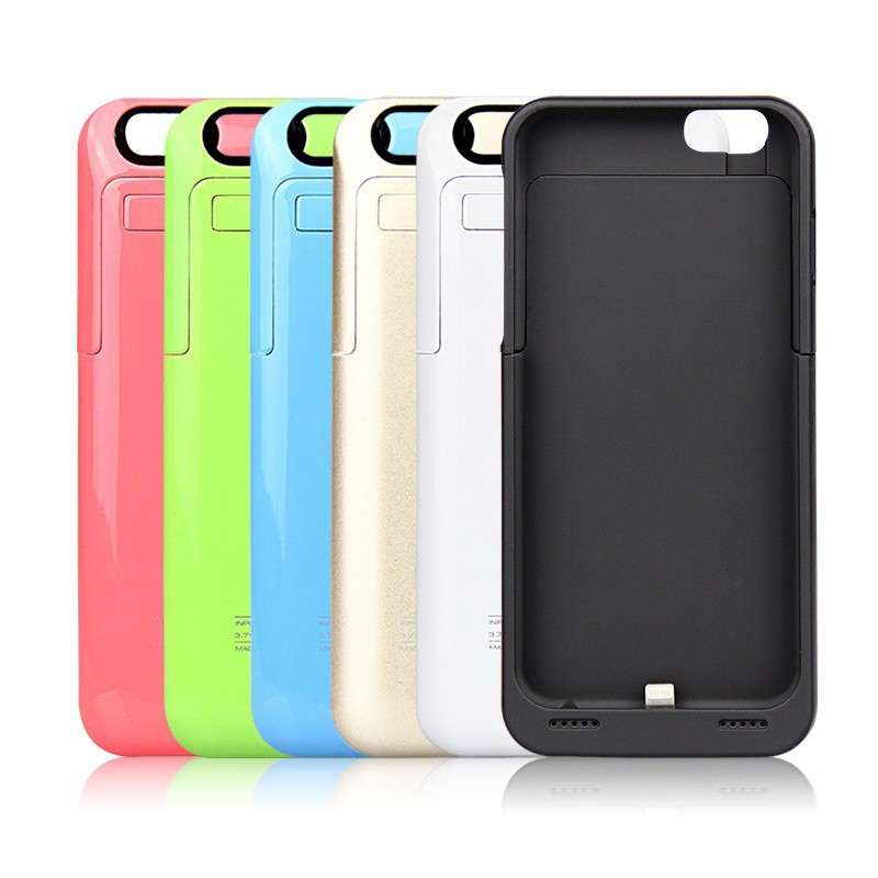 Rechargeable External Battery Backup Charger Case Cover Pack Power Bank Fits for Apple iPhone 6 #L0192558(China (Mainland))