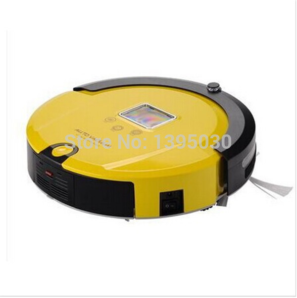 1pcs AmTidy A325 Multifunction Intelligent Home Robot Mini Vacuum Cleaner with Sweep Vacuum Mop Sterilize LCD Touch Screen(China (Mainland))