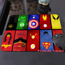 250x290x2mm Marvel Comics Superheroes Collage Customized Mouse Pad Fashion Avengers Computer Notebook Gaming Mice Mat Pad(China (Mainland))