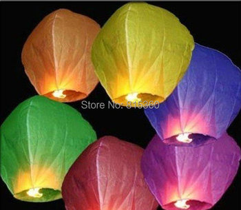 Wholesale - -New 20 PCS FIRE SKY CHINESE LANTERNS BIRTHDAY WEDDING PARTY & Outside Play