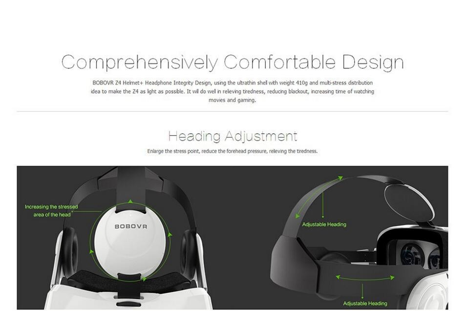 ถูก BOBO VRกล่องXiaoZhai Z4 Bobovr 3Dแว่นตาและบลูทูธควบคุมระยะไกลหมวกกันน็อกความเป็นจริงเสมือนส่วนตัวโรงละครกล้องส่องทางไกล