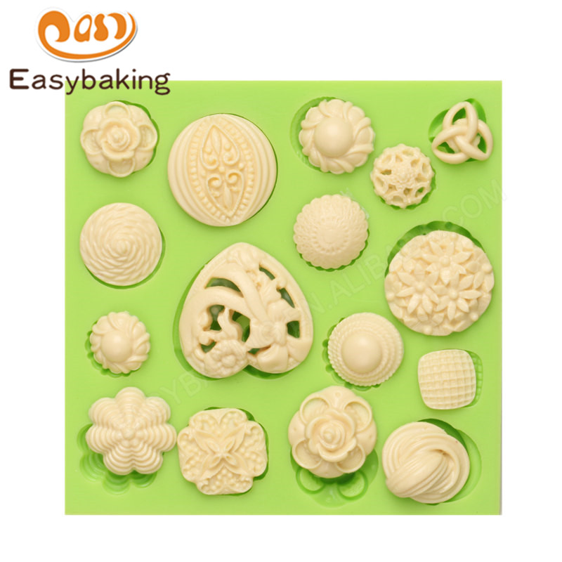 ES-3742 Fondant Mould Silicone Molds for Cake Decorating