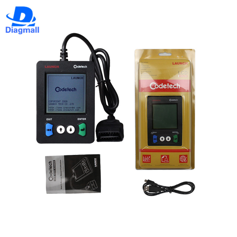 LAUNCH X431 Codetech Pocket Code Scanner Support OBDII And Definitions Launch Codetech Pocket Scan Tools OBD 2 Scanner(China (Mainland))