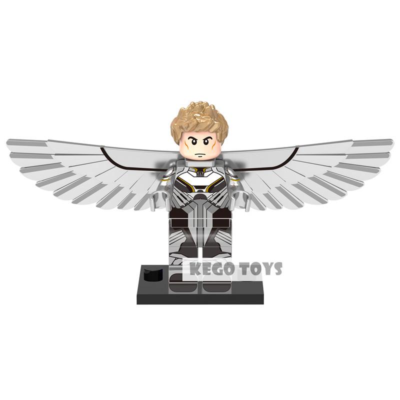 Single Sale NEW XINH 269 Archangel Minifigures Marvel X-Men Angel Super Heroes Building Blocks Sets Model Kids Toys(China (Mainland))