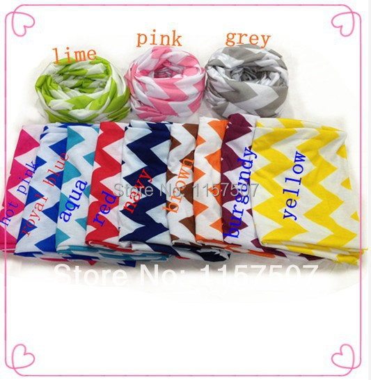 Sale ! Spring Chevron Scarf- Women & Girls Scarf Zig Zag Infinity Scarves 50 PCS / a lot Free Shipping By DHL(China (Mainland))