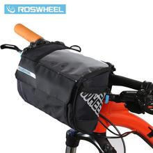 Buy ROSWHEEL 3L Bicycle Handlebar Bag MTB Road Bike Cycling Front bar Pannier Frame Pouch Map bags Bycicle Bolsa Bicicleta 111271 for $14.96 in AliExpress store