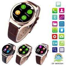 2016 новое поступление оригинальный bluetooth-смарт часы T3 Smartwatch поддержка sim-sd карты WAP для iPhone Android смартфон
