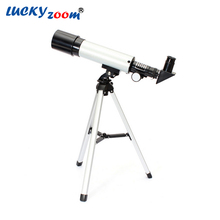 Outdoor Refractive Astronomical Telescope with Portable Tripod HD Monocular Spotting Scope 360/50mm Telescopio New Year Gift(China (Mainland))