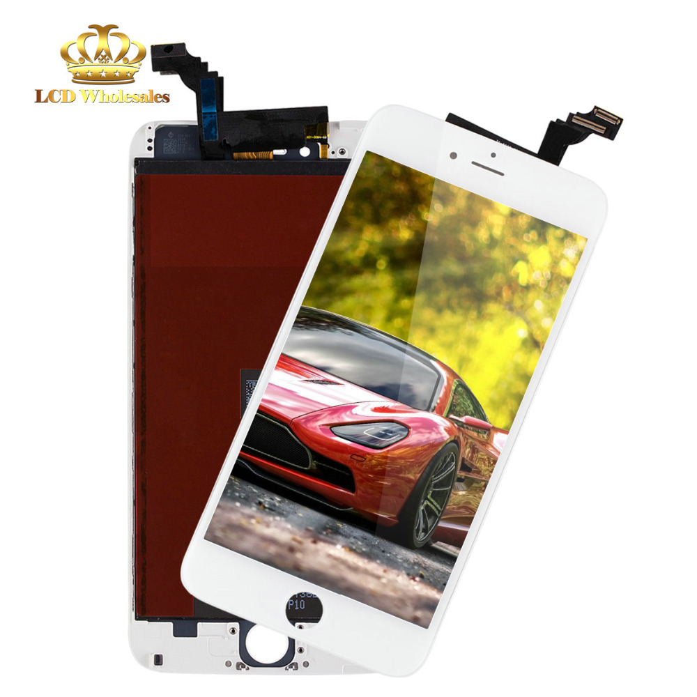AAA Quality Good testing 100% guarantee original Quality Glass Mobile Phone LCD for iphone 6 plus screen(China (Mainland))
