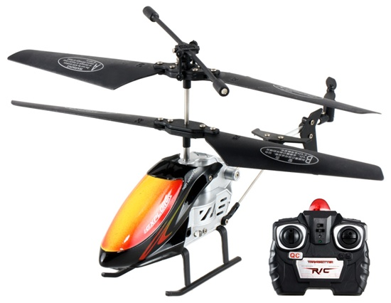 S26 2 Channel Remote Control Helicopter with LED(China (Mainland))
