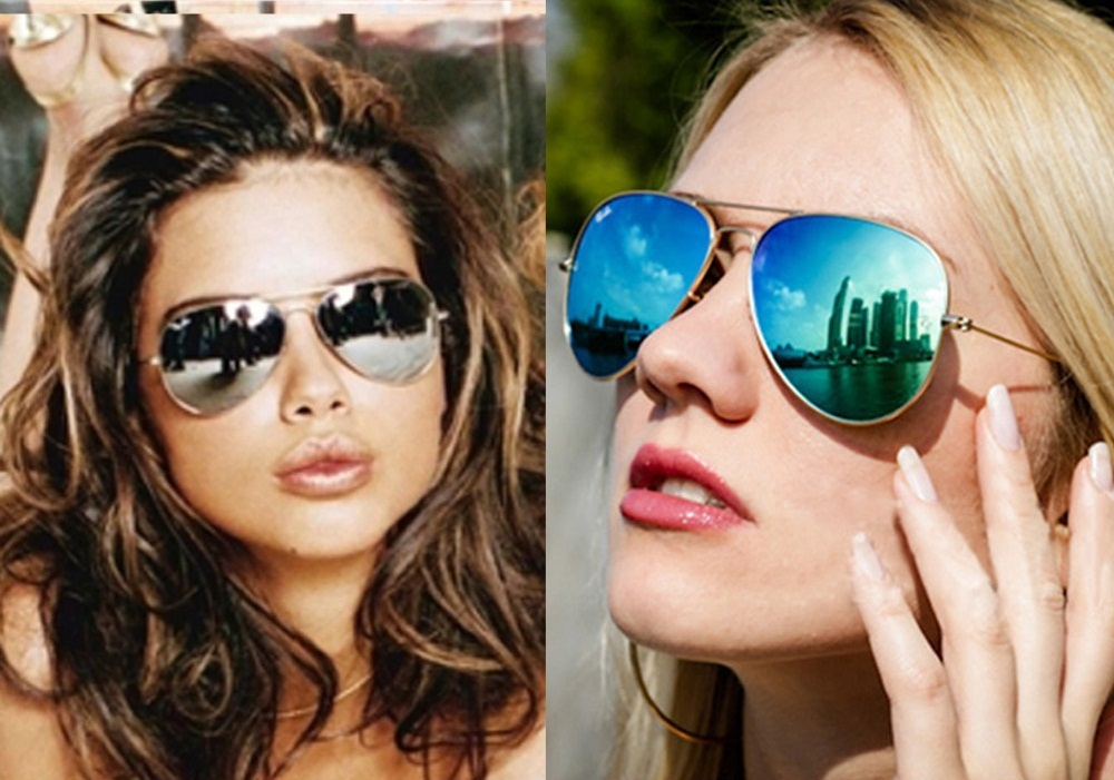 ladies aviator sunglasses  Womens Aviator Sunglasses