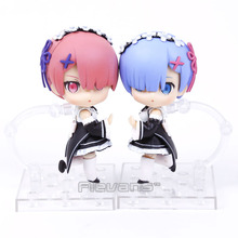 Buy Nendoroid Re:Life in a different world from zero Rem #045 / Ram #046 PVC Action Figure Collectible Model Toy Doll for $9.23 in AliExpress store
