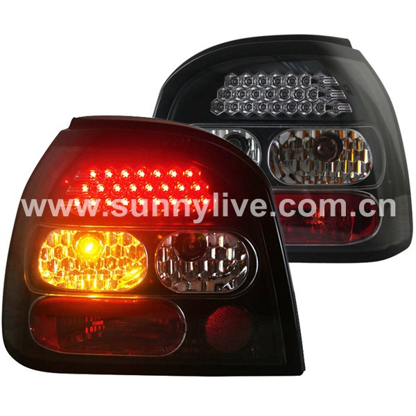 1992-1997 Year For VW Golf 3 MK3 LED Tail Lights Assembly LED Rear Lamps SN(China (Mainland))