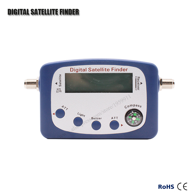 SF-9505A Hd Digital Satellite Finder For Satellite TV Reciever With LCD Display Satellite Meter With Compass Support DVB2/DVBS(China (Mainland))