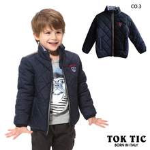 Free shipping children boy long sleeve lattice coat kids winter autumn fashion casual warm jacket boy outerwear & coat 3-12year