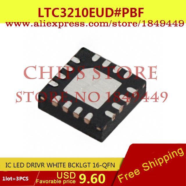 Бесплатная Доставка Электронный LTC3210EUD # PBF IC LED DRIVR WHITE BCKLGT 16-QFN LTC3210EUD 3210 LTC3210 3 ШТ.  ltc2203cuk pbf ic ацп 16 битный 25msps 48 qfn ltc2203cuk 2203 ltc2203 ltc2203c ltc2203cu 2203c