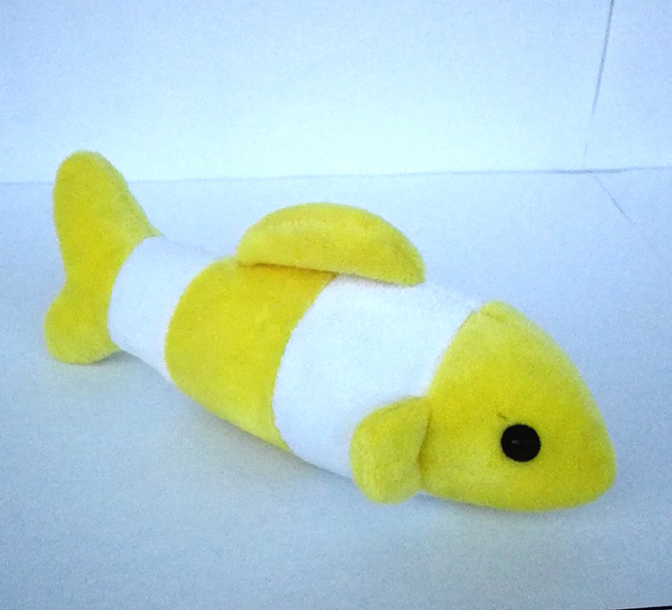 Free shipping NEW Hot Wholesale High quality stuffed animal realistic baby soft plush droll fish kids toy Manufacturers selling(China (Mainland))