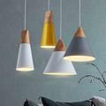 Modern kitchen chandeliers deco lighting fixtures restaurant light fixtures wooden pendant lamp pendentes para sala de