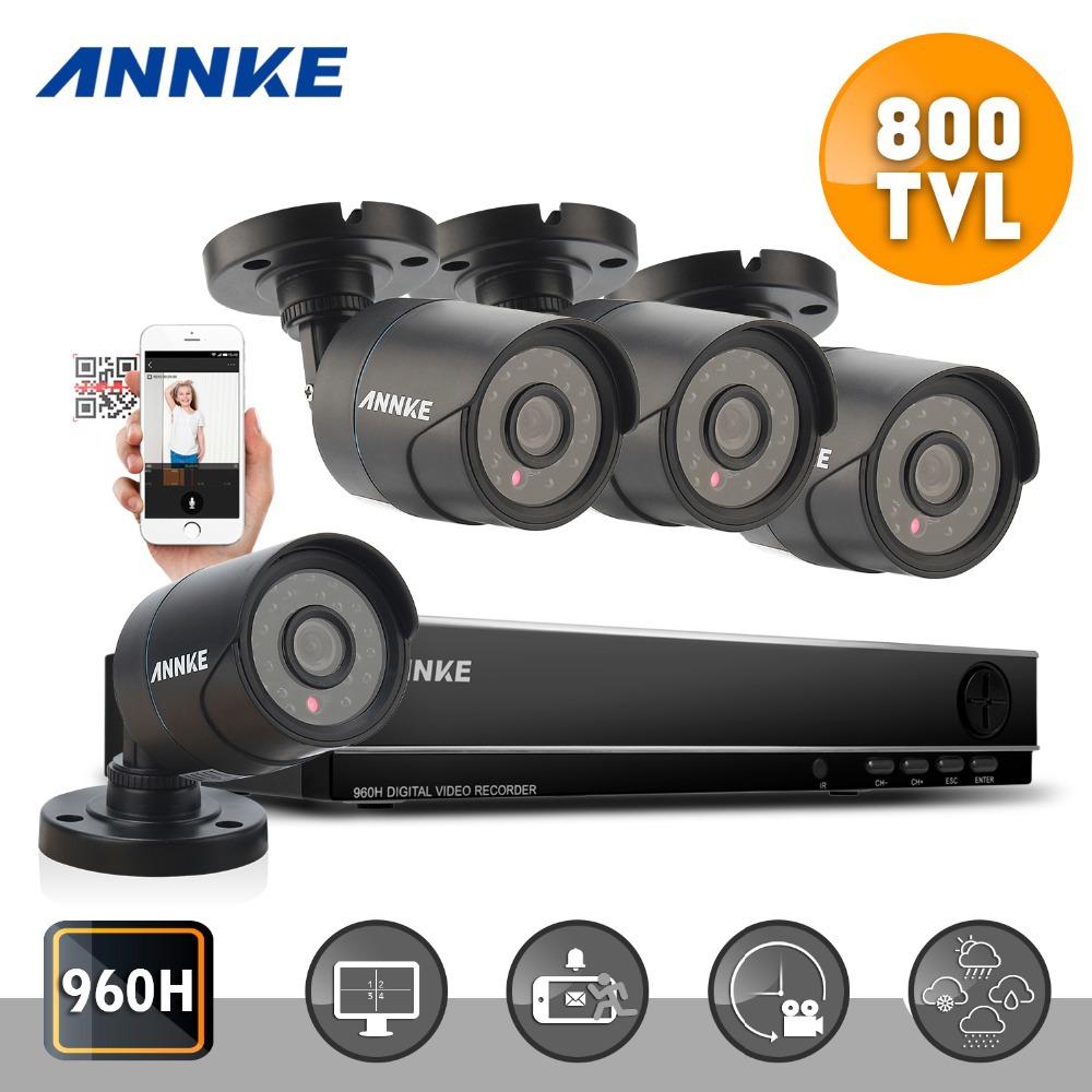 Система видеонаблюдения 2016ting ANNKE