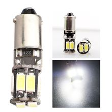 10Pcs T4W 5630 10 SMD BA9S Canbus No Error LED Car Bulb Lamp Interior Side Light For European cars and All Auto