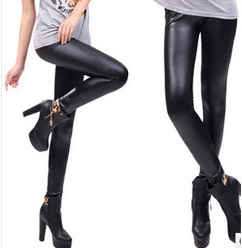 wetplace leggings cuir