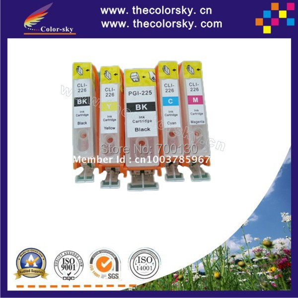 (RCE1241) refill ink cartridge for Epson T1241-1244 T124 T 124 Stylus NX125/NX420 BK/C/M/Y (with ARC chip) free shipping by DHL
