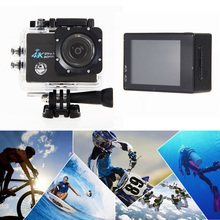 "Buy Professional Video Camera 2"" LCD Screen Mini 4K Wifi Camera Sports DV Video Camcorder 4X Zoom 16MP Waterproof 30M Car DVR for $42.87 in AliExpress store"
