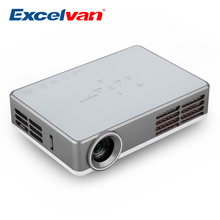 Excelvan LED9 3D Android 4.4 Projector DLP WIFI Wireless Projector 3000 Lumens 1280*800 Home Theater Mini Portable Projector(China (Mainland))