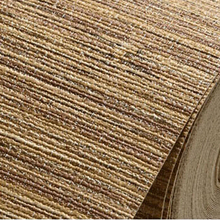 High Quality Nature Straw Texture Vinyl Wallpaper Roll Modern Deep Embossed Bedroom Livingroom Background Interior WallCovering (China (Mainland))