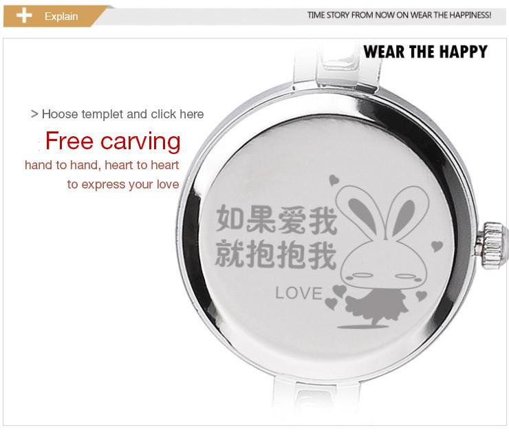 Brand TS Fashion Glory Anti-clockwise Ladies Dress Watch Flying Dolphins Strap Quartz-Watch Women Bracelet  Wrist Watches