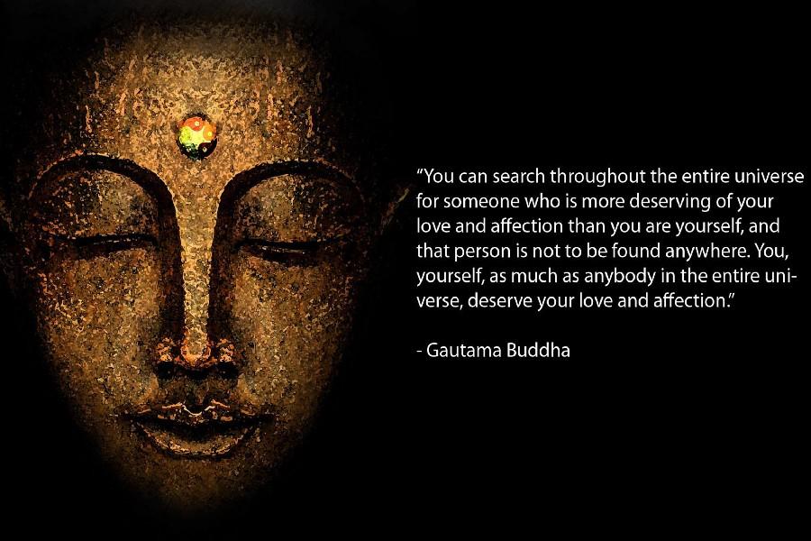 gautama buddha quotes inspirational motivational fabric