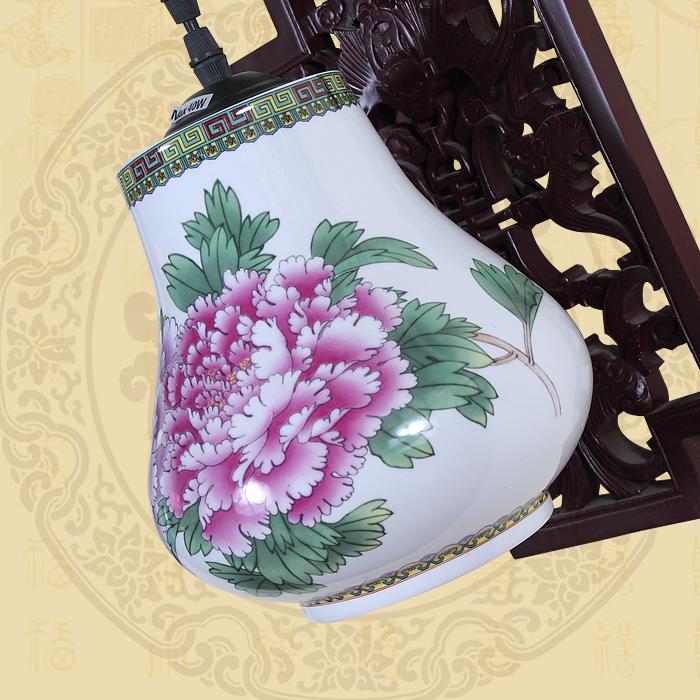 Cinese jingdezhen retro lampada da parete ikea creativo ...