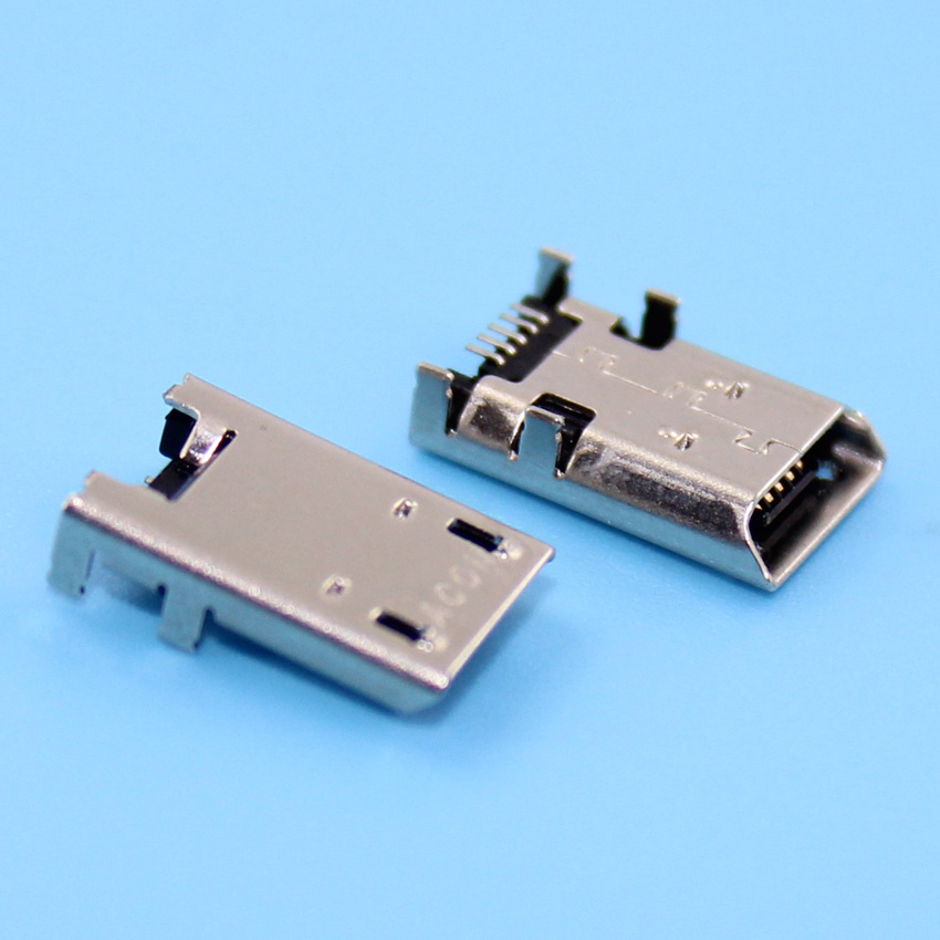 Free Shipping 100 pcs Micro USB Jack for Asus K013 ME372 ME301 K00E ME372 ME301T ME180 ME102 k00F Charging Socket Port Connector<br><br>Aliexpress