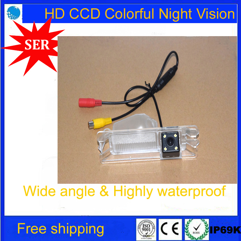 CCD Chip HD Special Car Rear View Reverse Camera Parking for Nissan March Renault Logan & Renault Sandero night vision Promotion(China (Mainland))