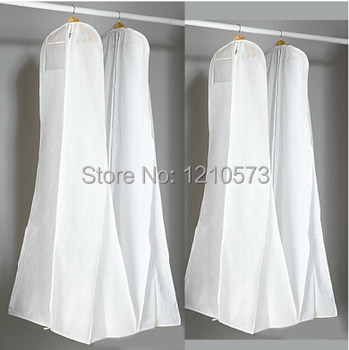 2015 New Arrival Storage Bag Cover Clothes Protector Case for Wedding Dress Gowns Garment Dust Cover for Evening Dress b001(China (Mainland))