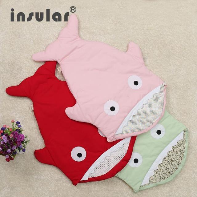 Новое поступление симпатичные коробки акула мешок ребенка спать победитель сна мешок ...